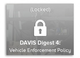 Vehicle Enforcement Policy